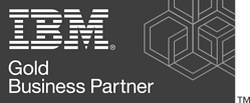 IBM logo grey