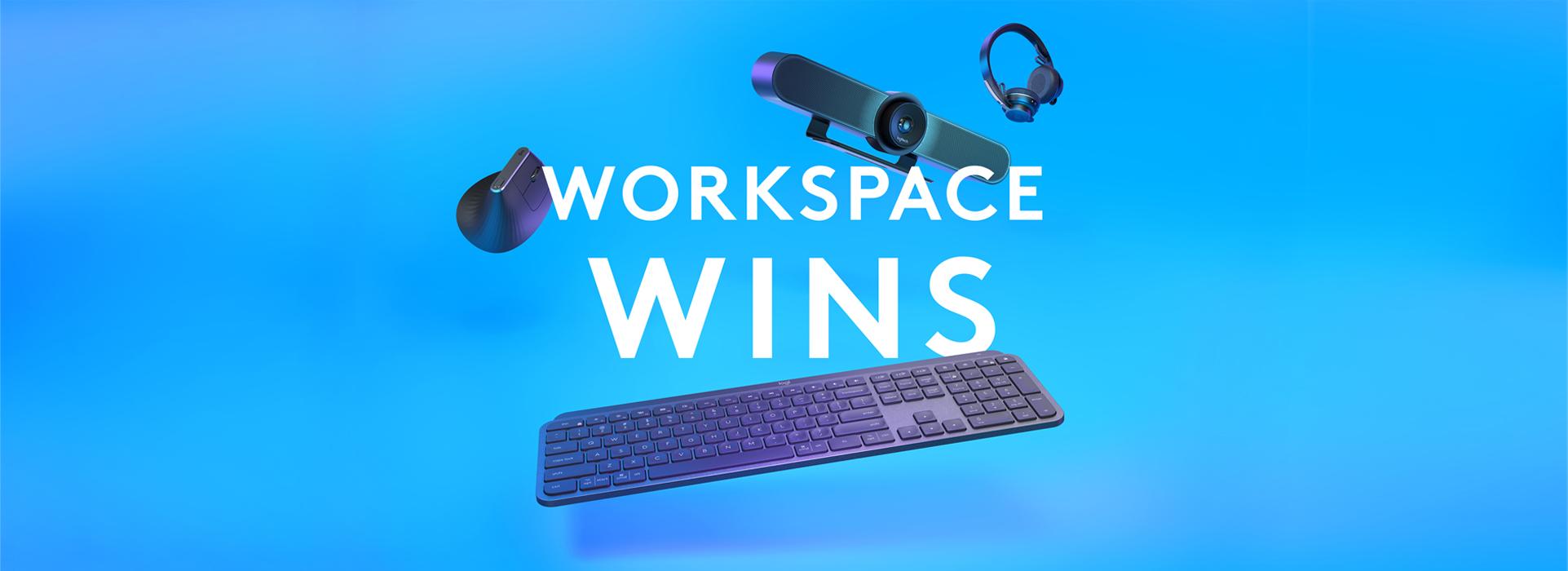 Logitech Workspace Wins - Arkphire remote working